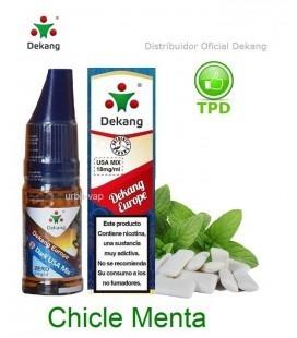Dekang - Chicle menta / Bubble Gum mint
