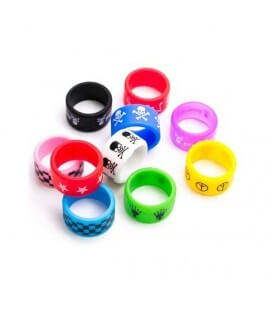 Bague silicone 22/12mm