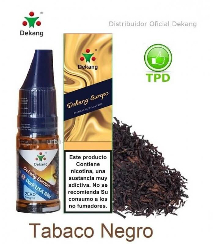 Tabaco Negro / Blackto Dekang - elíquido Vapeo - Vape