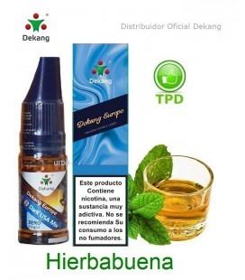 Hierbabuena / Peppermint Dekang - elíquido Vapeo - Vape