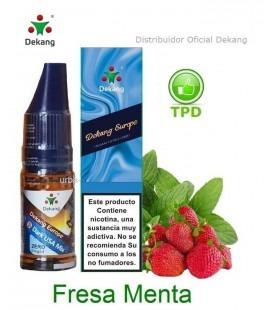 Fresa Menta / Strawberry Mint Dekang - elíquido Vapeo - Vape