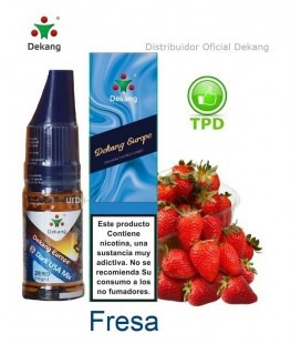 Fresa / Strawberry Dekang - elíquido Vapeo - Vape