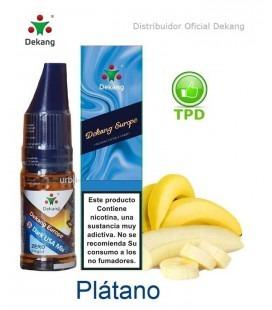 Platano / Banana Dekang - elíquido Vapeo - Vape