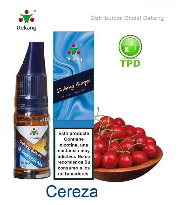 Cereza / Cherry Dekang - elíquido Vapeo - Vape