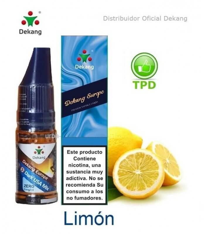 Limón / Lemon Dekang - elíquido Vapeo - Vape