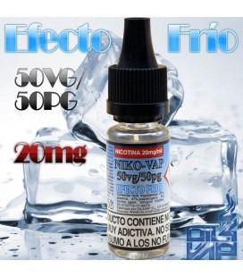 NIKO-VAP 50PG/50VG (EFECTO FRÍO) - OIL4VAP