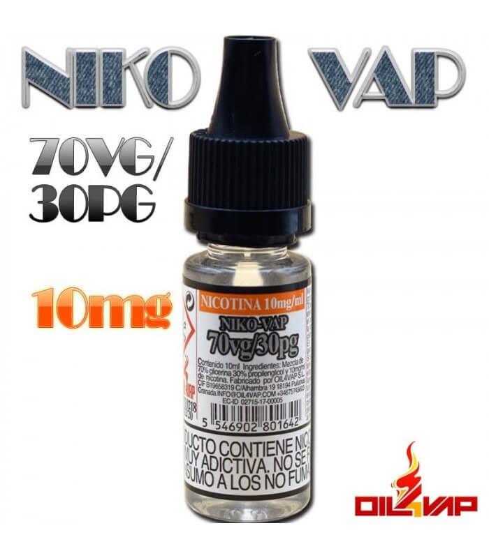 NIKO-VAP 70VG/30PG -OIL4VAP