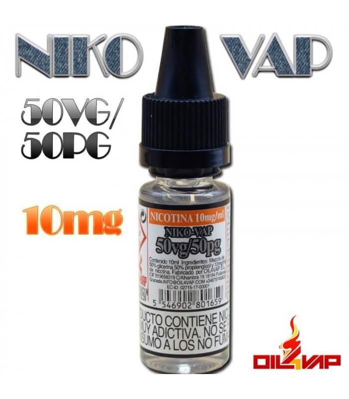 NIKO-VAP 50VG/50PG -OIL4VAP