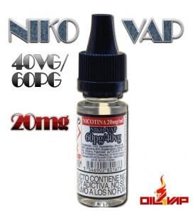 NIKO-VAP 60PG/40VG -OIL4VAP