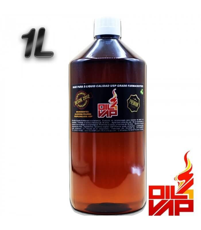 BASE 1 LITRO (SIN NICOTINA) - OIL4VAP