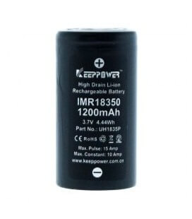 Pila Keeppower 18350 10A (2pcs)
