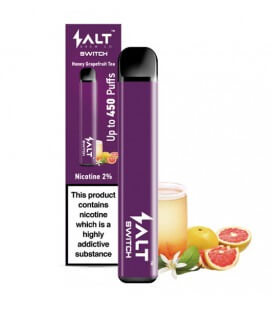 Salt Switch: desechable Pod Honey Grapefruit Tea - 20mg